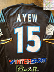 2009/10 Marseille 3rd Ligue 1 Football Shirt Ayew #15 (L)