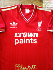 1985/86 Liverpool Home Football Shirt (Y)