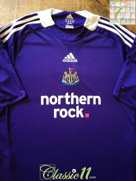 detailed look 521b7 4d66a 2008/09 Old Retro Newcastle United Away Football Shirt ...