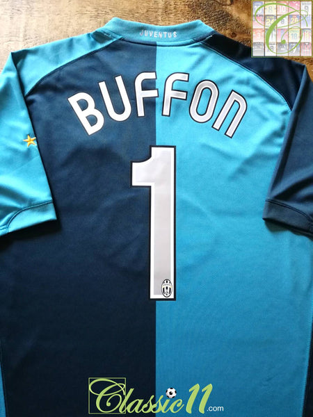 44062c1ce75 2006/07 Juventus Goalkeeper Football Shirt Buffon #1 / Soccer Jersey ...