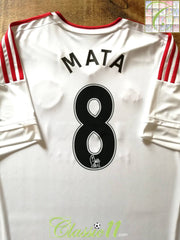 2015/16 Man Utd Away Premier League Football Shirt Mata #8 (XXL)