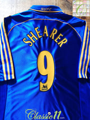1998/99 Newcastle United Away Premier League Football Shirt Shearer #9 (L)