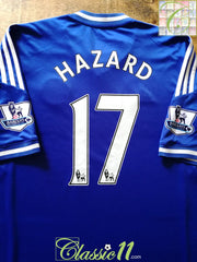 2013/14 Chelsea Home Premier League Football Shirt Hazard #17 (XL)