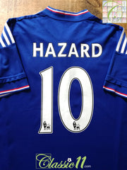 2015/16 Chelsea Home Premier League Football Shirt Hazard #10 (XL)