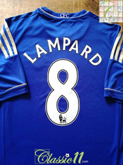 2012/13 Chelsea Home Premier League Football Shirt Lampard #8 (XL)
