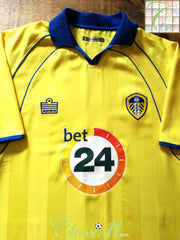 2006/07 Leeds Utd Away Football Shirt (M)