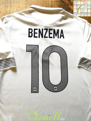 2012/13 France Away Football Shirt Benzema #10 (M)