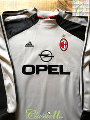 2000/01 AC Milan Goalkeeper Football Shirt (XXL)