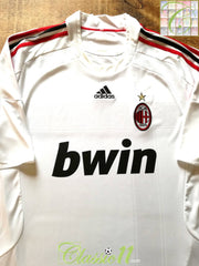 2008/09 AC Milan Away Football Shirt (XXL)