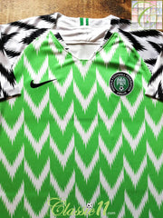 2018/19 Nigeria Home Football Shirt (XL) *BNWT*