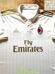 2016/17 AC Milan Away Football Shirt (XXL)