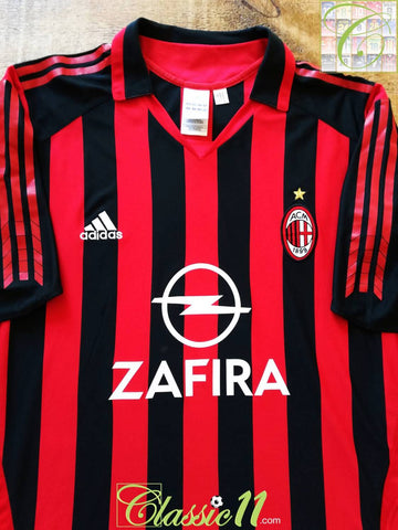 2005/06 AC Milan Home Football Shirt (S)
