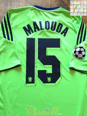 2010/11 Chelsea 3rd Champions League Football Shirt Malouda #15 (L)