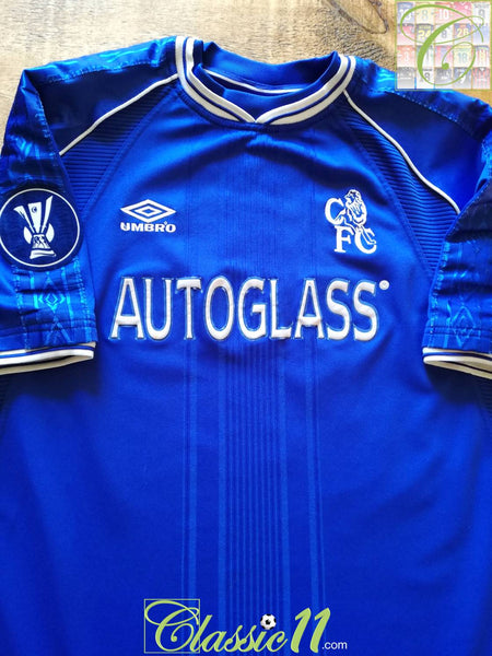 Image result for UEFA Cup Chelsea 1999-2000 kit