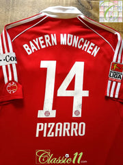 2006/07 Bayern Munich Home Bundesliga Football Shirt Pizarro #14 (L)