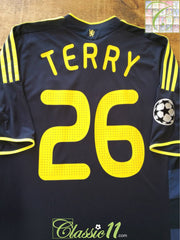 2009/10 Chelsea Away Champions League Football Shirt Terry #26 (XL)