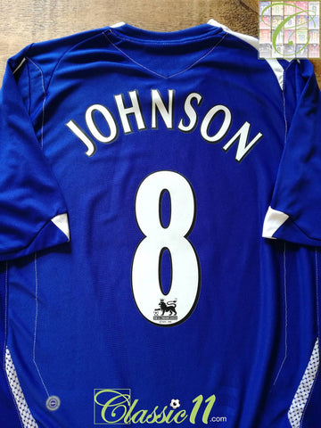 2006/07 Everton Home Premier League Football Shirt Johnson #8 (L)