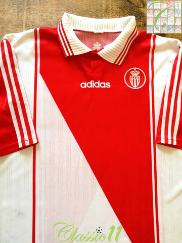 1996/97 Monaco Home Football Shirt (L)