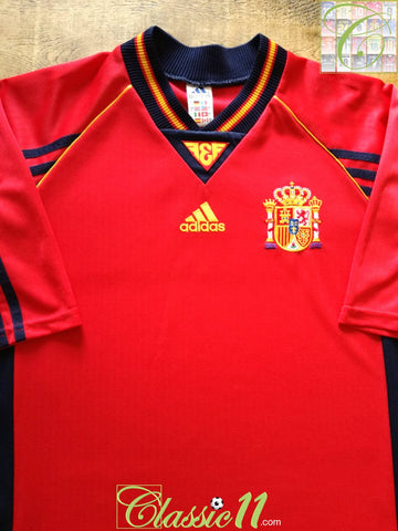 1998/99 Spain Home Football Shirt (L)