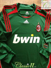 2006/07 AC Milan Goalkeeper Football Shirt (XXL)
