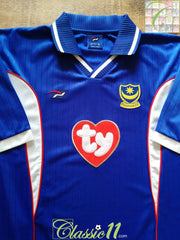 2002/03 Portsmouth Home Football Shirt (XL)
