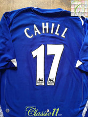 2006/07 Everton Home Premier League Football Shirt Cahill #17 (XL)