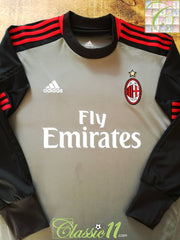 2012/13 AC Milan Goalkeeper Football Shirt (XXL)