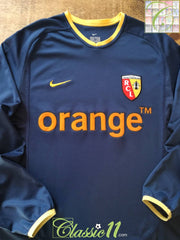 2003/04 RC Lens Away Football Shirt. (M)
