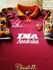 1998/99 Roma Home Football Shirt (XXL)