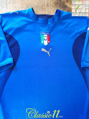 2006/07 Italy Home Football Shirt (XL)