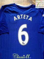 2007/08 Everton Home Premier League Football Shirt Arteta #6 (XL)