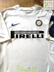 2010/11 Internazionale Away Football Shirt (XL)