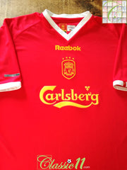 2001/02 Liverpool European Football Shirt (L)