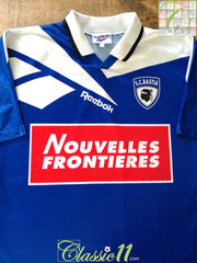 1995/96 SC Bastia Home Football Shirt (L)
