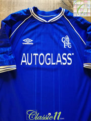 1999/00 Chelsea Home Football Shirt (M)