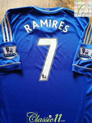 2012/13 Chelsea Home Premier League Football Shirt Ramires #7 (XL)