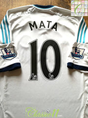 2012/13 Chelsea Away Premier League Football Shirt Mata #10 (XL)