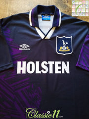 1994/95 Tottenham Away Football Shirt (XL)