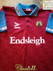 1993/94 Burnley Home Football Shirt (M)