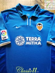 2000/01 Valencia 3rd La Liga Football Shirt (L)
