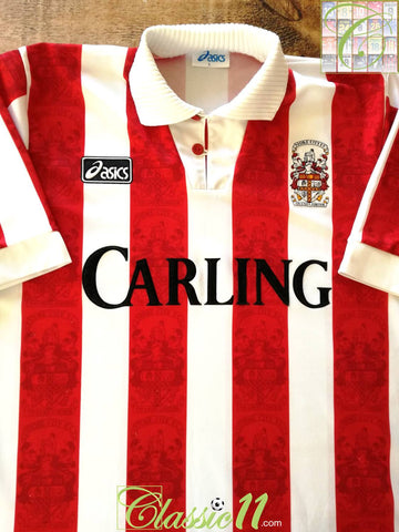 1994/95 Stoke City Home Football Shirt (L)
