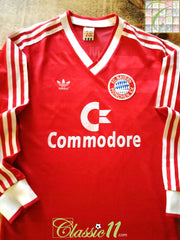 1986/87 Bayern Munich Home European Football Shirt (S)