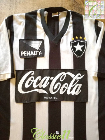 1989 Botafogo Home Football Shirt (XL)