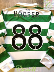 2010/11 Celtic Home SPL Football Shirt. Hooper #88 (S)