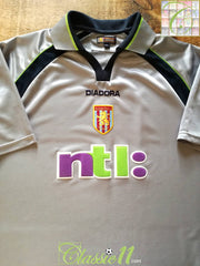 2001/02 Aston Villa Away Football Shirt (M)