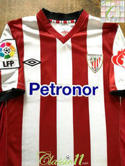 2012/13 Athletic Bilbao Home La Liga Football Shirt (S)