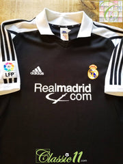 2001/02 Real Madrid Away La Liga Football Shirt (L)