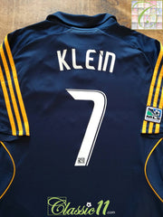 2008 LA Galaxy Away MLS Football Shirt Klein #7 (XL)
