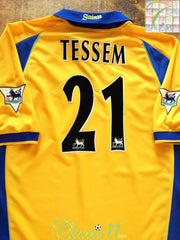 2000/01 Southampton 3rd Premier League Football Shirt Tessem #21 (XL)