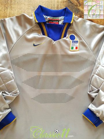 1996/97 Italy Goalkeeper Football Shirt (S)